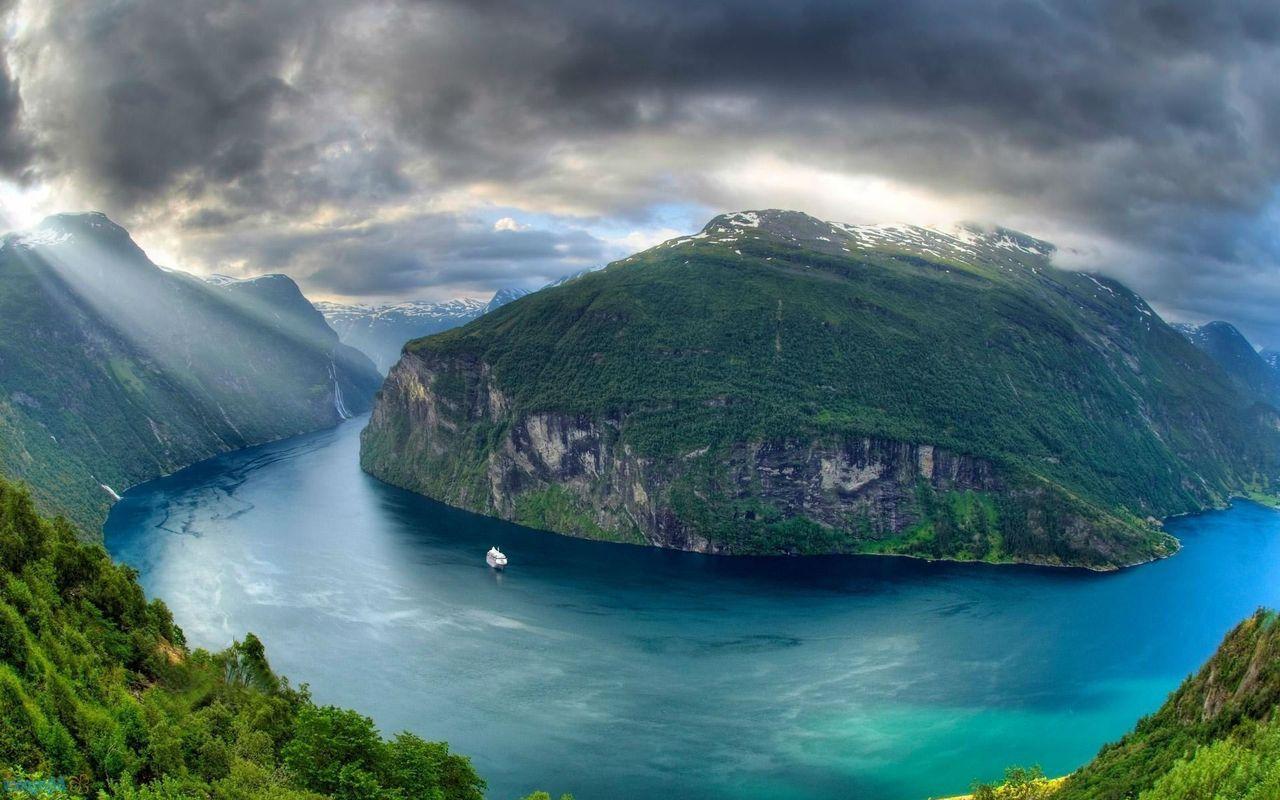 Geirangerfjord ten